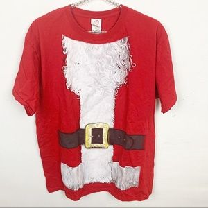 Dec 25th l Santa Graphic Ugly Christmas T-shirt